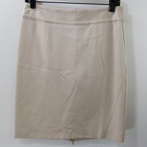 Trina Turk Beige Pencil Skirt Size 6